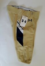 NEW Under Armour UA Mens XL Football Icon Pants Gold Blue NWT