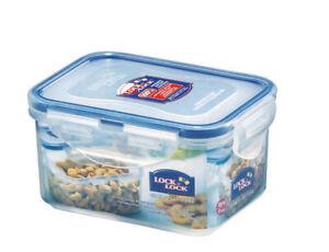 Lock & Lock Clip Lid Rectangular Food Storage Container Lunch Box ~ 17 Sizes