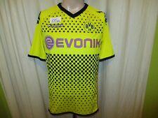"""Borussia Dortmund Kappa Deutscher Meister Trikot 2011/12 """"EVONIK"""" Gr.M TOP"""