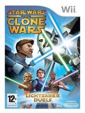 Wii e Wii U-Star Wars Il Clone Wars-SPADA LASER duelli ** Nuovo e Sigillato **