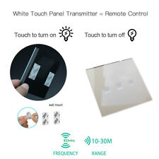 Wireless Light Switch Remote Control Touch Glass Smart Home Tool Transmitter