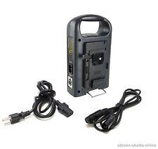 Dual V-Mount Battery Charger 2-Channel for V-lock Batteries