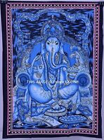 Indian Lord Ganesh Wall Tapestry Throw Hippie Indian Wall Hanging Decor Art Dorm