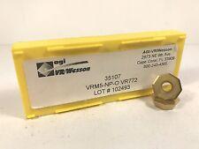 VR WESSON VRM5-NP-0 OELB060416N New Carbide Inserts Grade VR772 10pcs O