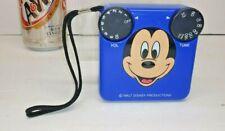 VINTAGE REALISTIC TRANSISTER RADIO BLUE MICKEY MOUSE RADIO SHACK  - WORKS -