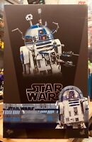 New Hot Toys MMS511 Star Wars R2-D2 Deluxe Version R2D2 1/6 Figure