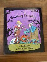 The Vanishing Pumpkin by Tony Johnston (1983, Hardcover)