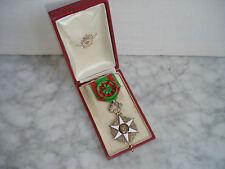 Médaille  MERITE AGRICOLE OFFICIER en Vermeil dans sa Boite - French Medal