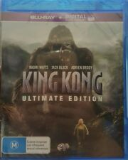 *New & Sealed* King Kong Ultimate Edition Blu Ray + UV 2 Disc Set! Region B AUS