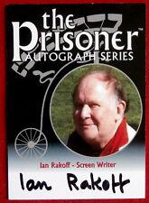 THE PRISONER - IAN RAKOFF Autograph Card PA6 - Factory Entertainment 2010