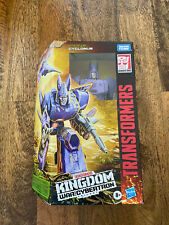 Transformers Generations War for Cybertron: Kingdom Voyager Cyclonus NEW SEALED
