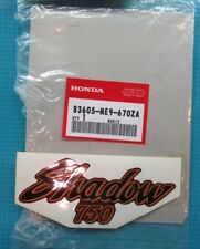 NEW Genuine Honda Honda Motorcycle 1983 VT750C A SHADOW 750 Side Cover Decal