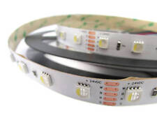 24V BOBINA LED RGBW BIANCO FREDDO 30W/M 300 SMD 5 METRI IP20 RGB+CW