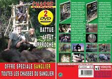 Lot 2 DVD Chasse sanlgier n°2 : Les chasses du sanglier : spécial battues & s...