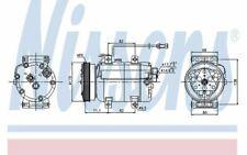 NISSENS Kompressor 12V für AUDI A4 89029 - Mister Auto Autoteile