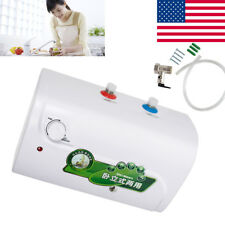 8L Tank Electric Hot Water Heater Household Bathroom Kitchen off automatical USA