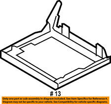 FORD OEM 09-11 Flex Second Row Back Rear Seat-Seat Frame Left 8A8Z7463161A