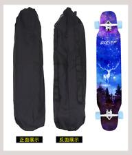 120cm Waterproof Canvas Skateboard Bag Longboard Carry Case Backpack Skating Bag