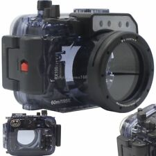 60m 195ft Underwater Diving Waterproof Housing Case for Sony RX100 I II III IV V