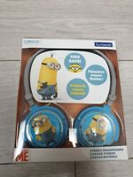 Lexibook Despicable Me Minions Stereo Headphones Kids Safe BRAND NEW BNWT