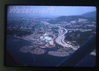 1979 35mm Photo slide Idaho Coeur D'alene Aerial View from airplane #1
