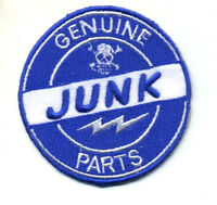 Hot Rod patch Genuine Junk Parts badge Drag Race Old Stock