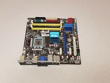 ASUS P5Q EM w/I/O Shield LGA 775 Intel P45 ATX Intel Motherboard Used, Working