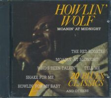 SEALED NEW CD Howlin' Wolf - Moanin' At Midnight