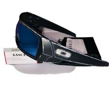 New Oakley Raceworn Gascan Sunglasses Blue Frame W/ Prizm Sapphire Iridium Lens