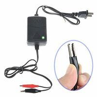 12V 1300mA Battery Trickle Charger 100-240V AC For Auto Car Tender Maintainer