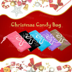 5 PCS Halloween Candys Gift Bags Wedding Party Pouch Cookie Wrapping Bags Sack