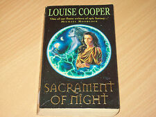 Sacrament of Night by Louise Cooper (Paperback Book, 1998)