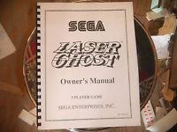 LASER GHOST SEGA video game manual