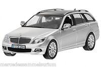 Mercedes Benz W 204 Classe C/ C classe Break/Immobilier Argent iridium 1:43 Neuf
