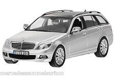 Mercedes Benz W 204 C Klasse/ C Class Kombi/Estate Iridiumsilber 1:43 Neu