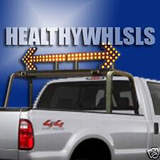 "48"" VOLTEX TRAFFIC SIGN ARROW BOARD LED LIGHT LIGHTBAR"