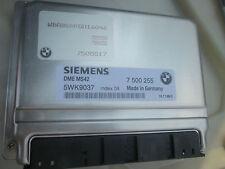BMW E39 ENGINE MODULE 528i 1999-2000 STEPTRONIC 7505517 7505553 7500255