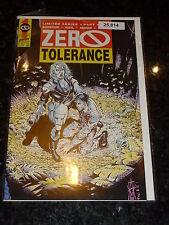 ZERO TOLERANCE Comic - No 4 - Date 01/1991 - First Comics