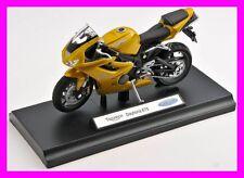 Blitz envío Triumph Daytona 675 amarillo/Yellow Welly moto modelo 1:18 nuevo