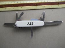 Victorinox SpartanLite Swiss Army knife in white -Mulcahy, ABB, bright light