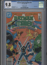 BATMAN AND THE OUTSIDERS #10 MT 9.8 CGC HIGHEST 1 OF 1 CANADIAN PRICE VARIANT