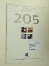 Catalogue PEUGEOT 205 Génération  T16 GTI 1996 prospectus brochure prospekt auto