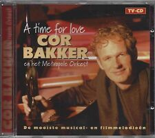 Cor Bakker Met Het Metropole Orkest  ‎– A Time For Love   cd