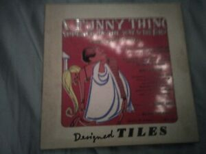 Funny Thing Happened 1960 Designed tile rare mint