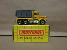 Matchbox No.30 Peterbilt Quarry Truck Superfast 1981 Made in Macau