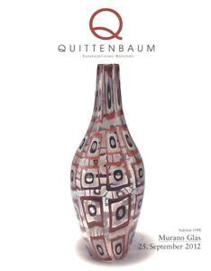 Quittenbaum Catalogue Murano Glas  25/09/2012 HB