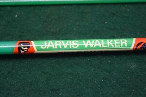 Vintage Javis Walker Clarence Fishing Rod And Original Cloth Bag