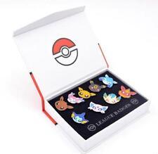Pokemon Go Pocket Monster Eevee Sylveon Espeon Badges Pin 9pcs Set