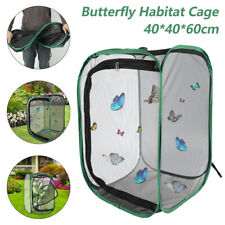 AU Foldable Praying Mantis Stick Insect Cage Butterfly Pop-up Housing Enclosur
