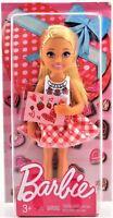 Barbie Little Sister Chelsea Pink Dress Valentine Doll Mattel Free Shipping